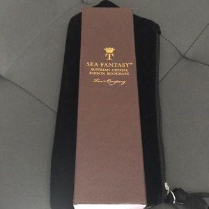 Two's Company Sea Fantasy Ribbon Bookmark